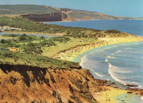 Surf Beach and River Mouth, Anglesea