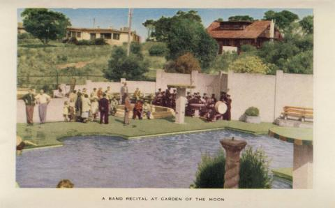 A Band Recital at Garden of the Moon, Arthurs Seat