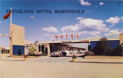 Travelana Motel right on the highway and in the town - Bairnsdale