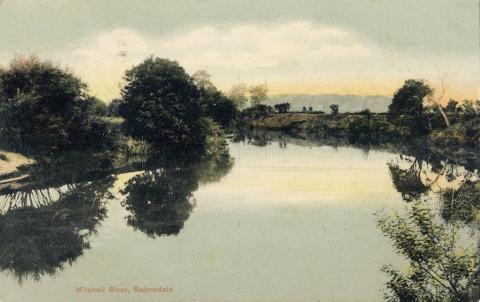 Mitchell River, Bairnsdale, 1906