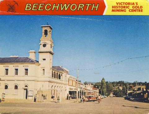 Camp Street and Post Office, Beechworth