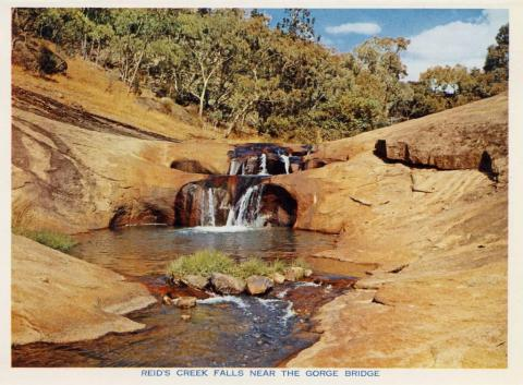 Reid's Creek Falls, near the Gorge Bridge, Beechworth