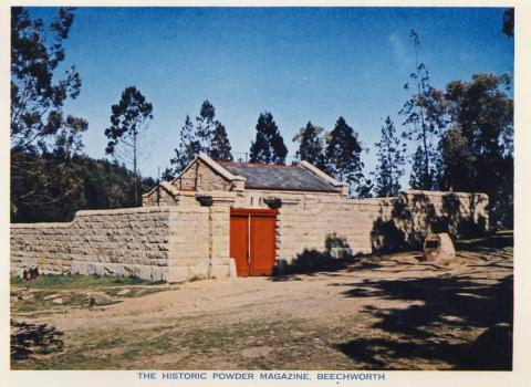 The historic powder magazine, Beechworth