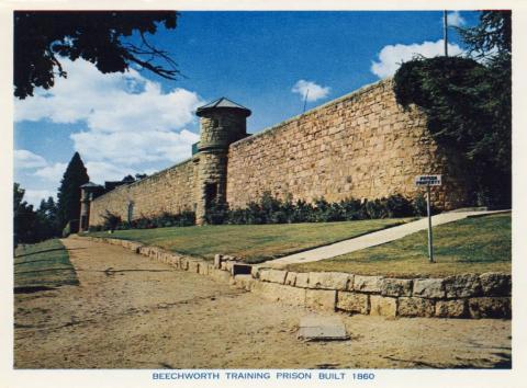 Beechworth Training Prison built 1860