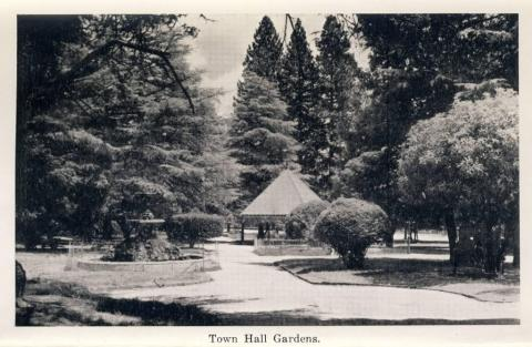 Town Hall Gardens, Beechworth