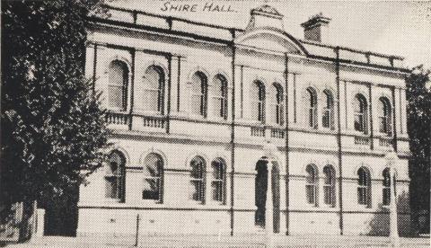 Shire Hall, Beechworth Shire