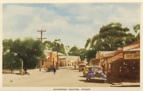 Shopping centre, Upwey
