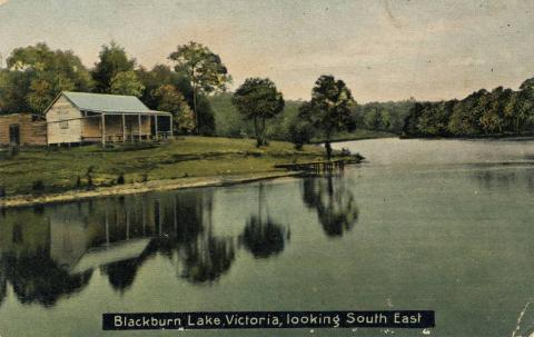 Blackburn Lake, looking south east
