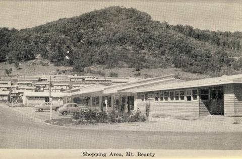 Shopping area, Mount Beauty