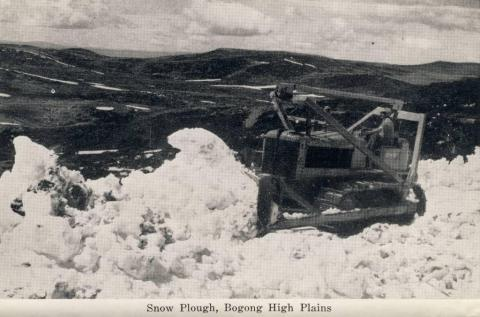 Snow plough, Bogong High Plains