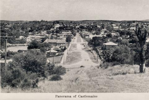 Panorama of Castlemaine