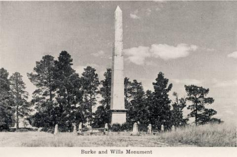 Burke and Wills Monument, Castlemaine