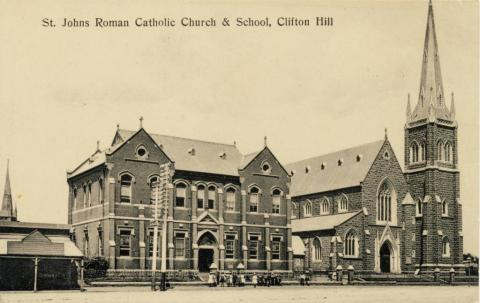 St Johns Roman Catholic Church & School, Clifton Hill