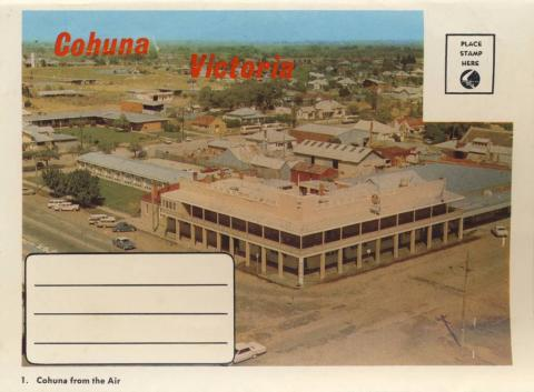 Cohuna from the air