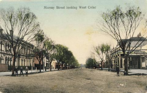Murray Street looking west, Colac