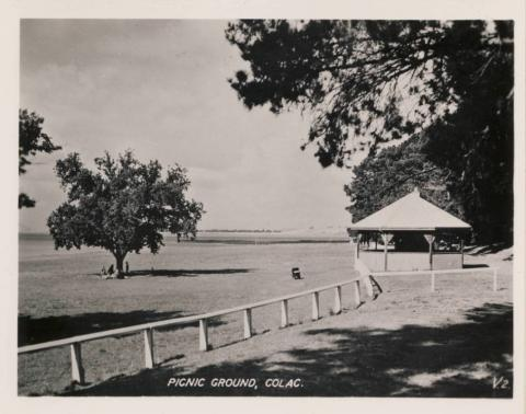 Picnic ground, Colac