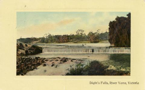 Dight's Falls, River Yarra, Collingwood
