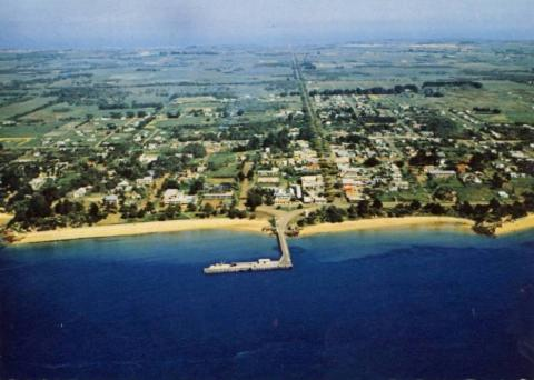 Aerial view of Cowes