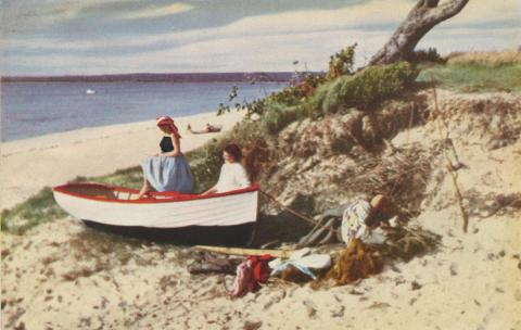 Carrum Beach, 1954