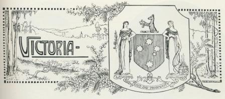 Victoria coat of arms, 1918