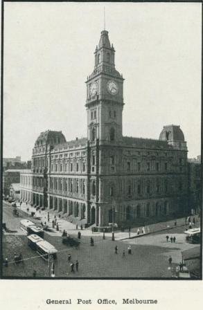 General Post Office, Melbourne, 1918