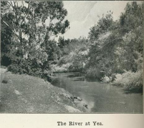 The river at Yea, 1918
