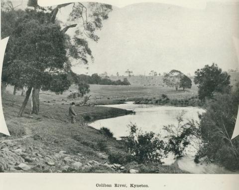 Coliban River, Kyneton, 1918