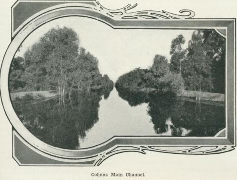 Cohuna Main Channel, 1918