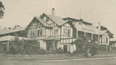 Isle of Wight Hotel, Cowes, 1947-48