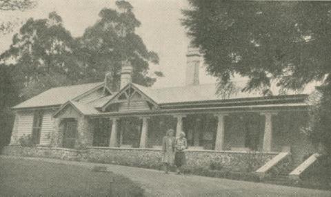 Osterley Park Guest House, Mount Macedon, 1947-48