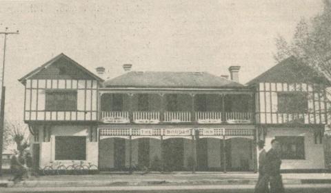 Border Inn, Bacchus Marsh, 1947-48