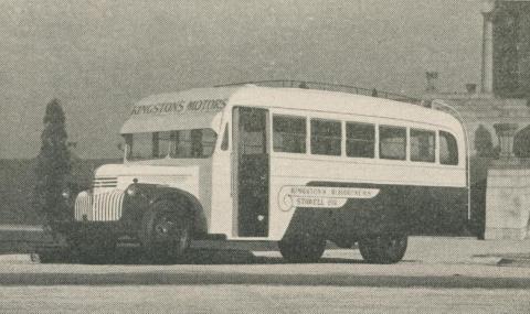 Kingston's Roadliners, Grampians, 1947-48