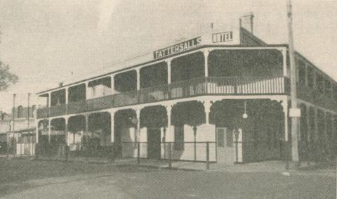 Tattersall's Hotel, Nhill, 1947-48