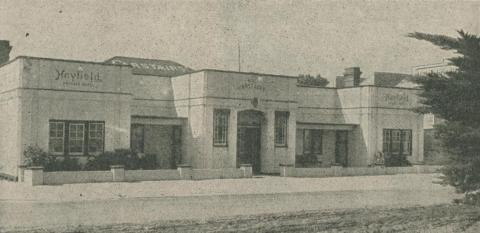 Heyfield Private Hotel, 1947-48
