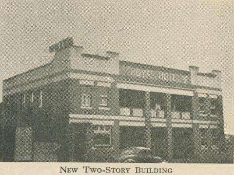 Royal Hotel, Loch, 1947-48