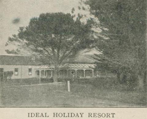 Kangerong Boarding House, Dromana, 1918-20