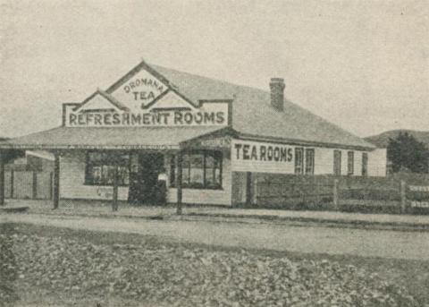 Warren's Refreshment Rooms, Dromana, 1918-20