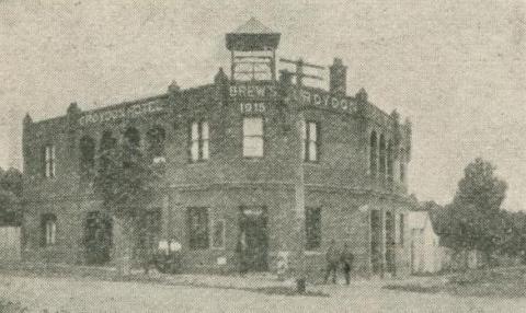 Croydon Hotel, 1918-20