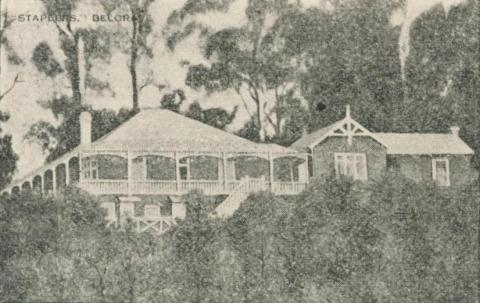 Staplers Boarding House, Belgrave, 1918-20
