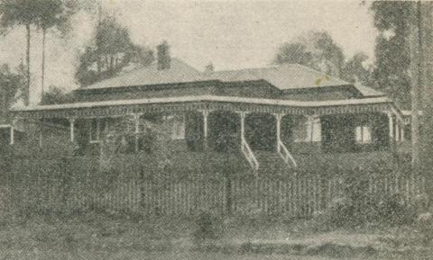Bel Respiro Boarding House and Rest Home, Belgrave, 1918-20