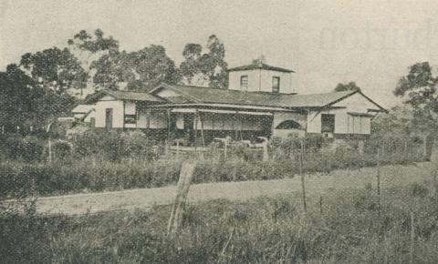 Mount View Boarding House, Warburton, 1918-20