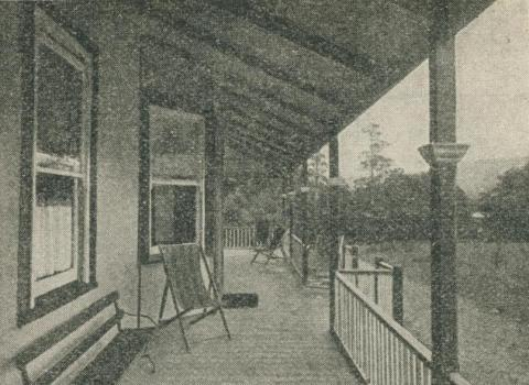 La La Boarding House, Warburton, 1918-20