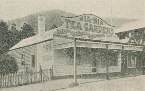 Mia Mia Tea Gardens, Warburton, 1918-20