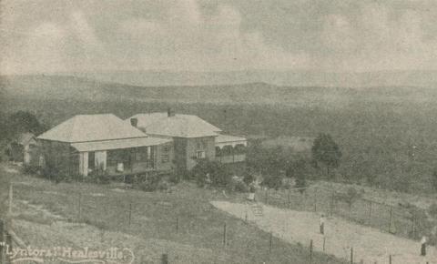 Lyntors Boarding House, Healesville, 1918-20