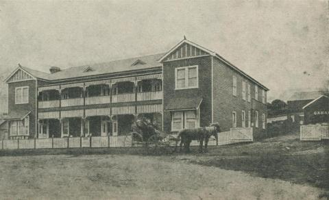 Ocean House, Port Campbell, 1918-20