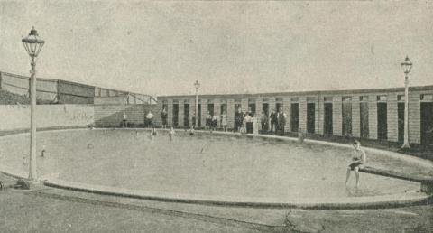 Warrnambool Hot Sea Water Baths, 1918-20