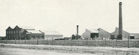 The recently established Works at Sunshine, for the manufacture of Durasbestos and Terra Cotta, 1927