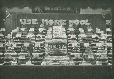 Coles, window dressing competition, Camberwell, 1934