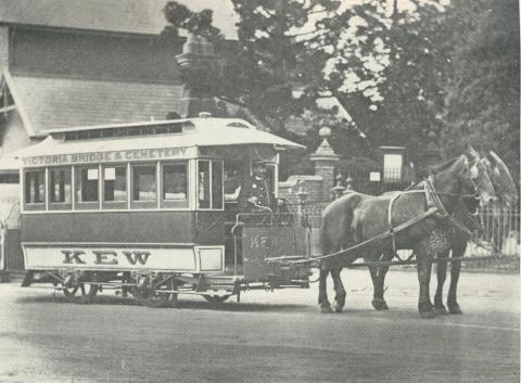 The Kew Horse Tram