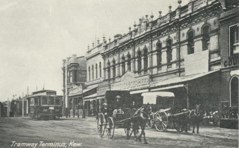 Kew-St Kilda Tram Terminus, Cotham Road